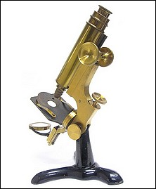 Leopold Schrauer, New York (attributed) Microscope