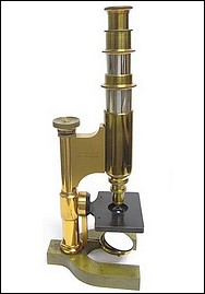 Harvard Model microscope No. 5598, non-inclinable, c. 1885