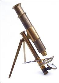 portable microscope, John Browning London #419