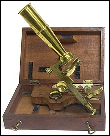 Dollond London. Chest microscope, c.1830