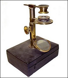 Ellis aquatic microscope c.1775