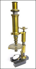 petrological microscope, R. Fuess Berlin #131 the Rosenbusch model c.1878