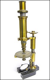 R. Fuess Berlin #131. The Rosenbusch model c.1878. An example of the first type of petrological microscope