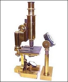 E. Hartnack & A. Prazmowski, Rue Bonaparte 1, Paris, #13936, c. 1875. Continental microscope