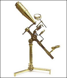 Jones Most Improved model microscope Bate London, c. 1825