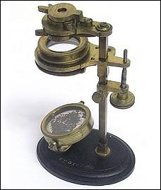 W. & S. Jones 30 Holborn, London. Improved Botanical, or Universal, Pocket Microscope