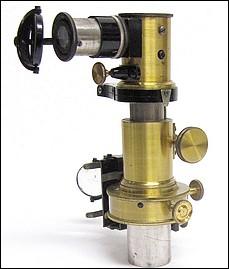E. Leitz Wetzlar. Abbe type microspectroscope, c. 1900