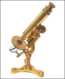McIntosh Battery and Optical Co., Chicago, No. 458. The Scientific Microscope No. 1, c. 1890