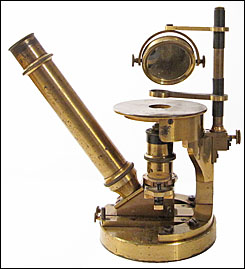 The Nachet-Smith Inverted Chemical Microscope c 1885