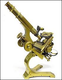 "Pillischer, London # 5692, ""The Kosmos"" model microscope, c.1895"