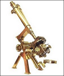Powell & Lealand, 170 Euston Road, London, dated 1892. The binocular No. 1 model