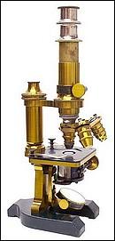 F.W. Schieck Berlin S.W. No. 7982. Continental microscope. c.1884