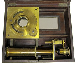 Secretan à Paris. Solar microscope, c. 1865