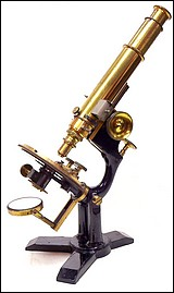 Bausch &amp; Lomb Optical Co. The Williams petrological microscope.c. 1888