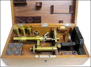 C. Zeiss, Jena, 7324. Microscope model VI, c. 1884