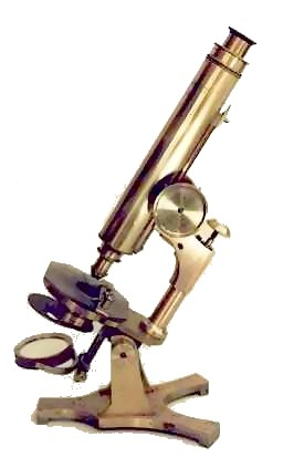T. H. McAllister, N.Y. The Professional Model microscope.