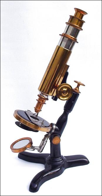 Yawman & Erbe , Rochester. The 'Nonpareil Microscope' c. 1884