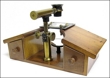 C. Verick, Paris (attributed). Dissecting-Preparation Microscope, c. 1880