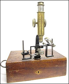 E. Leitz, Wetzlar, No. 123111. Entomological Field Microscope, c. 1909