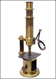 Nachet Opticien, rue Serpente 16, Paris. Drum Microscope, c.1850