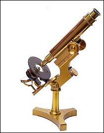James W. Queen & Co., Phila., # 788. The Acme No. 3 Model Microscope. c. 1890