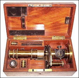 Schiek in Berlin, No. 965. Small drum microscope. c. 1859