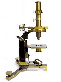 Société Genevoise pour la Construction de Instruments de Physique, Geneve. Metrological microscope (measuring microscope), c. 1900