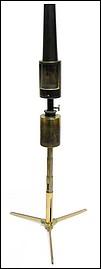 J. Swift, 43 University St., London W.C., Registered. Portable microscope lamp, c. 1874