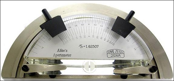Carl Zeiss, Jena - Abbe's Apertometer, c. 1910