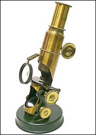 Inclining drum Microscope, French c.1870
