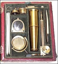 New Improved Pocket Compound Microscope c. 1825