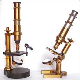 Continental microscopes left: Franz Poeller,