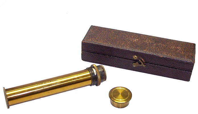 John Browning, London. Direct Vision Hand Spectroscope c. 1885