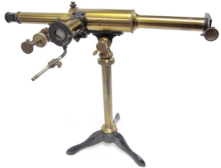 Franz Schmidt & Haensch, Berlin, S. Direct Vision Spectroscope after Hoffmann, c. 1890. Signature