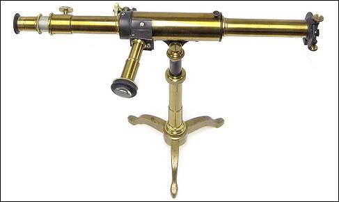 Spectroscope - Hofmann, Construit à l' Institute d' Optique à Paris du Dr. J. G. Hofmann à Paris, Direct Vision Spectroscope, c. 1870