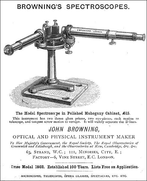 John Browning Spectroscopes
