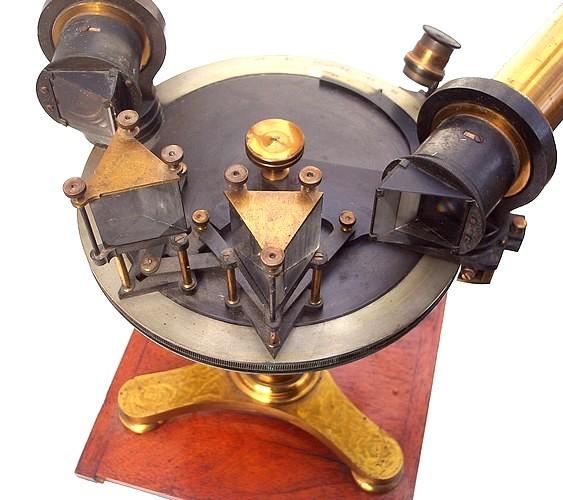 John Browning, 63 Strand, London. Multi-prism Laboratory Spectrometer