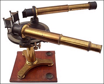 John Browning, 63 Strand, London. Multi-prism Laboratory Spectroscope c. 1875
