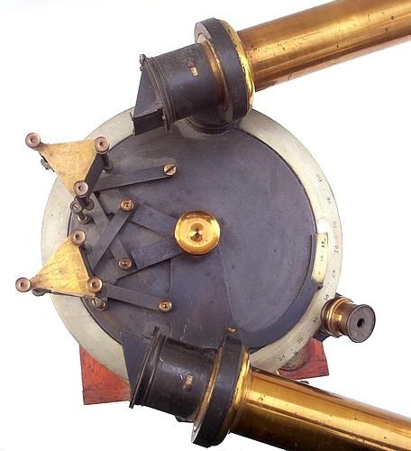 John Browning, 63 Strand, London. Multi-prism Laboratory Spectroscope