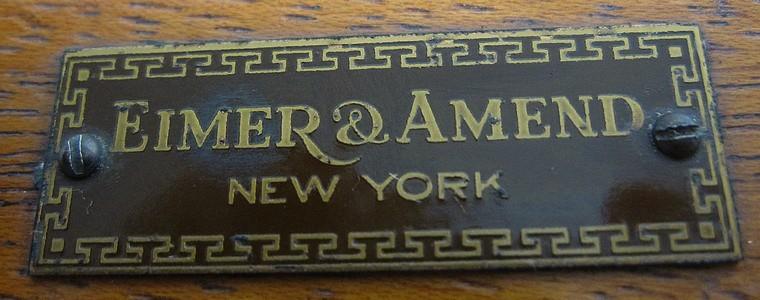 Eimer & Amend, New York