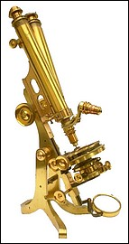 binocular microscope: Collins London