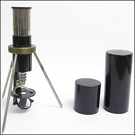 Field or Pocket Microscope marked &quot;Junior&quot;, c. 1925. Made by Spindler &amp; Hoyer, Gttingen