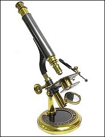 Highley's Educational microscope with chain drive focus