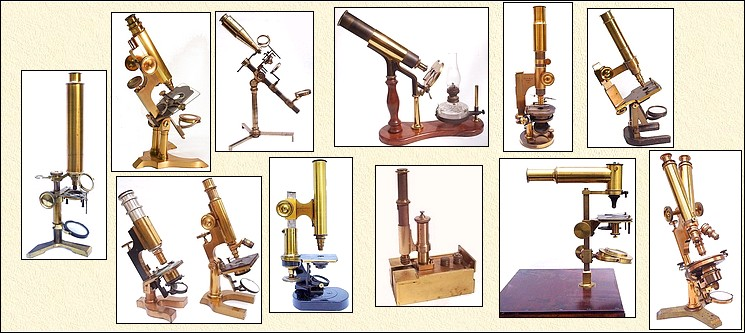 I buy antique microscopes