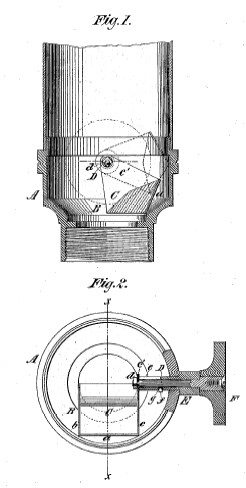 bausch and lomb patented mounting of the wenham prism
