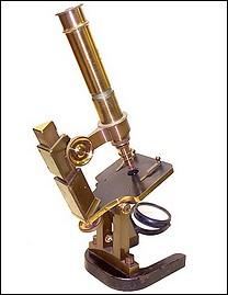 G. & S. Merz Munchen N:866. Large model monocular microscope, c. 1868