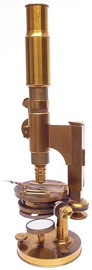 Pistor  &  Martins, Berlin, No. 667. Monocular microscope: c.1860