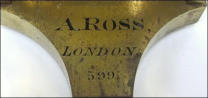 A. Ross, London, 599