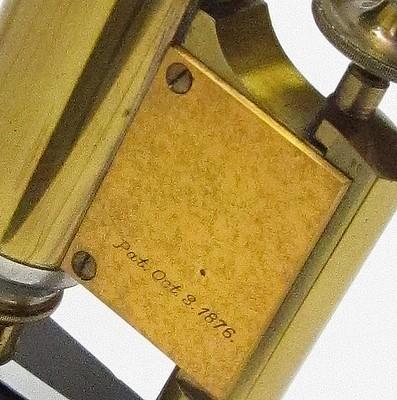 Oct 3, 1876 patent date