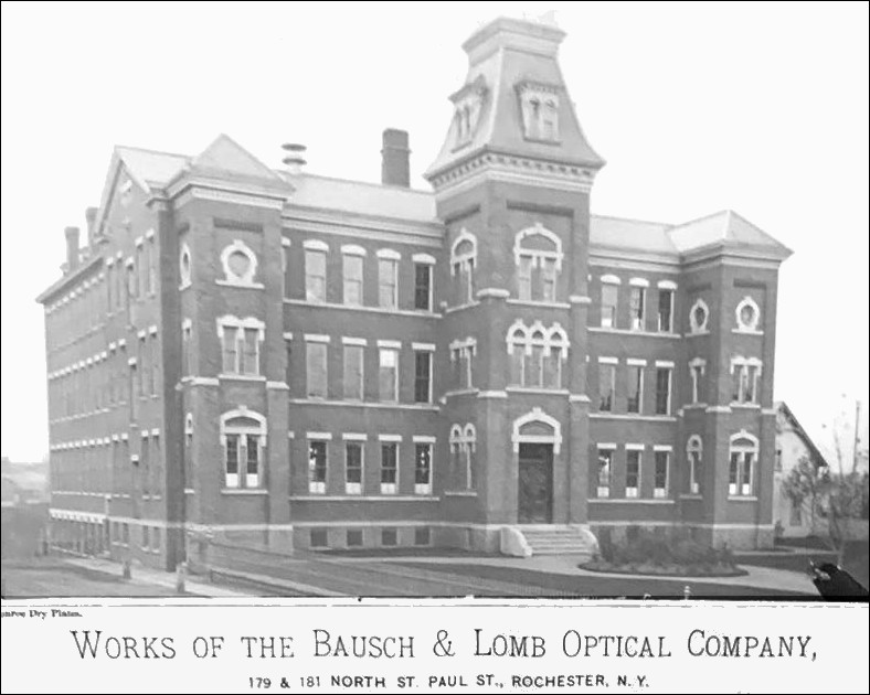 Works of the Bausch & Optical Co.